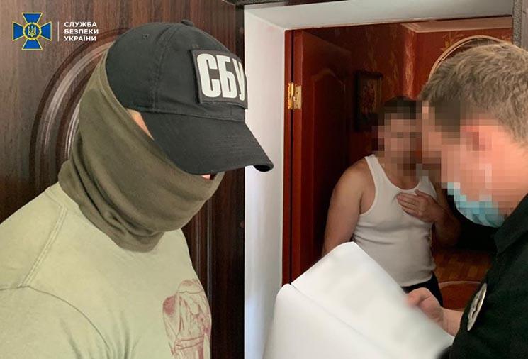 У Білій Церкві СБУ затримала угруповання торгівців зброєю