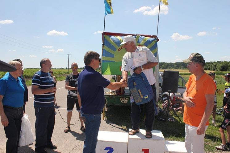 відкритий літній Кубок Київщини з велоспорту на шосе пам'яті Бориса Башенка