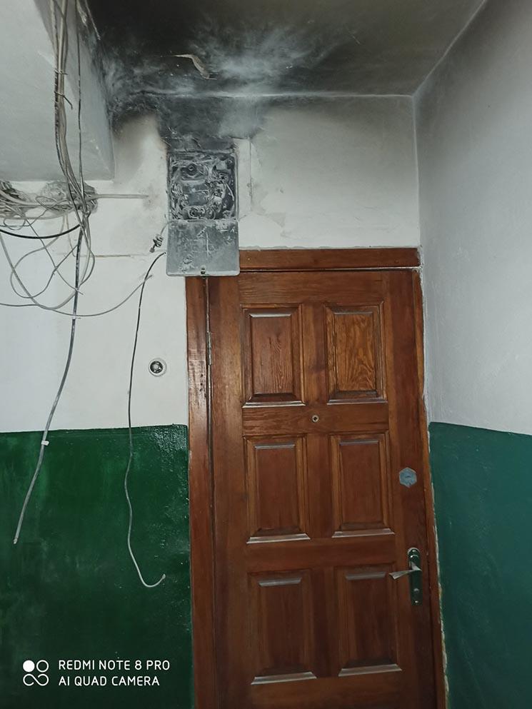 У Білій Церкві у багатоповерхівці загорілась електрощитова