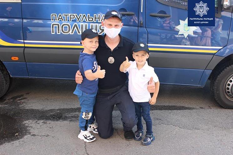 Білоцерківські патрульні здійснили мрію дитини