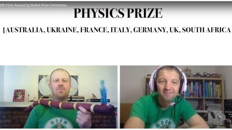 Українці отримали Шнобелівську премію за черв'яків