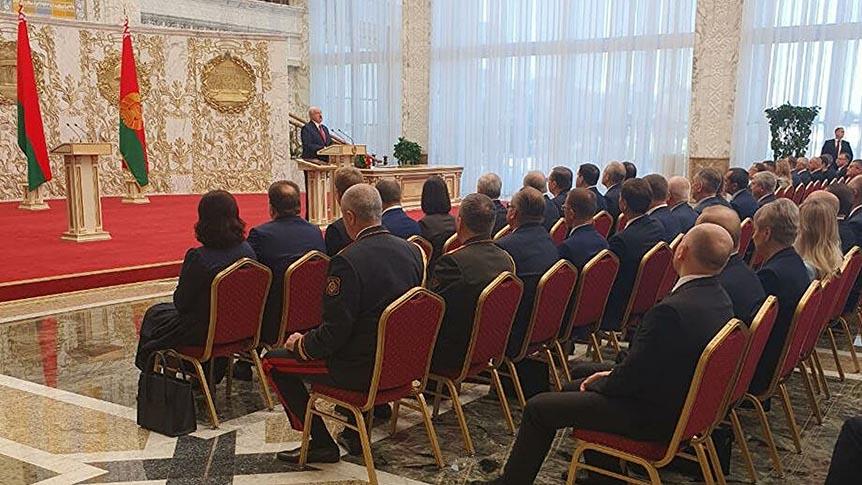 У Мінську відбулася таємна інавгурація Олександра Лукашенка
