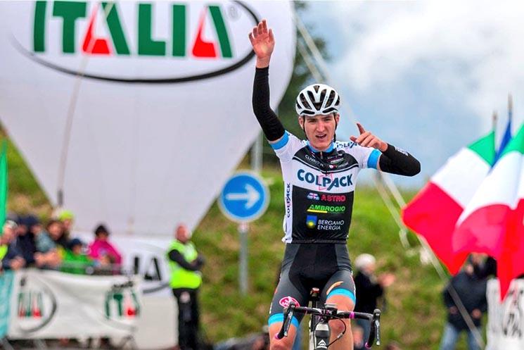 Білоцерківський велогонщик Марк Падун